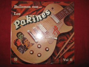 LP Bailemos con Los Pakines Vol 2 cumbia Peru