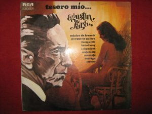 LP Agustin Lara y su orquesta Tesoro mio Peru edition