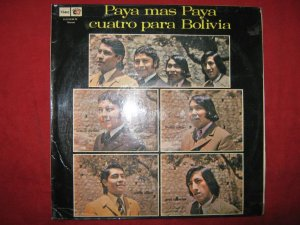 LP Paya mas paya 4 para Bolivia andean folklore Peru ed