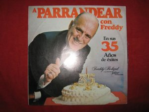 LP SEALED NEW Made in 1988 FREDDY ROLAND 35 años PERU