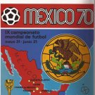 Rare Reprinted Album Mexico 70 Panini