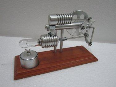 Stirling engine -Ross Yoke  Hot Air Stirling Engine , education toys, model kits ~ JAJ  720