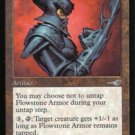 Magic the Gathering Nemesis Flowstone Armor NM/Mint