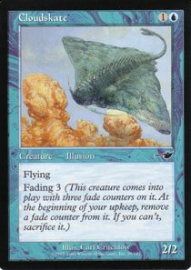 Magic the Gathering Nemesis Cloudskate NM/Mint