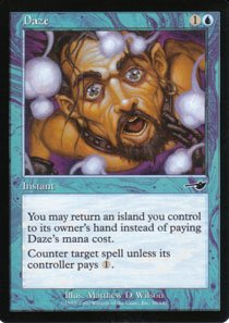 Magic the Gathering Nemesis Daze NM/Mint