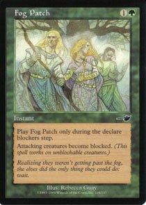 Magic the Gathering Nemesis Fog Patch NM/Mint