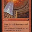 Magic the Gathering Nemesis Flame Rift NM/Mint