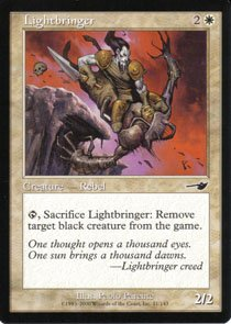 Magic the Gathering Nemesis Lightbringer NM/Mint