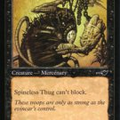Magic the Gathering Nemesis Spineless Thug NM/Mint