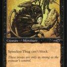 Magic the Gathering Nemesis Spineless Thug NM/Mint