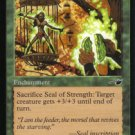 Magic the Gathering Nemesis Seal of Strength NM/Mint