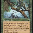 Magic the Gathering Nemesis Skyshroud Sentinel NM/Mint