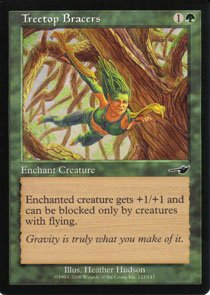 Magic the Gathering Nemesis Treetop Bracers NM/Mint