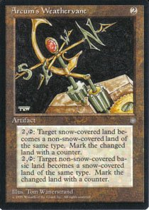 Magic the Gathering Ice Age Arcum's Weathervane NM/Mint