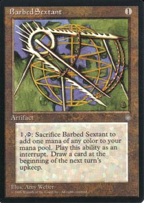 Magic the Gathering Ice Age Barbed Sextant NM/Mint