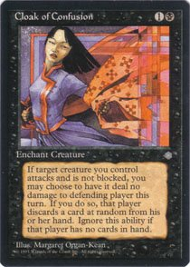 Magic the Gathering Ice Age Cloak of Confusion NM/Mint
