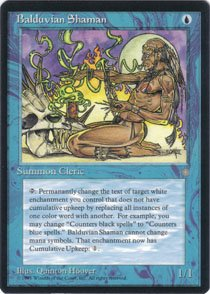 Magic the Gathering Ice Age Balduvian Shaman NM/Mint