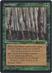 Magic the Gathering Ice Age Earthlore NM/Mint