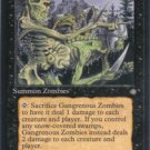 Magic the Gathering Ice Age Gangerous Zombies NM/Mint