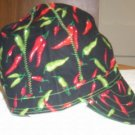 HAT- Hot Peppers - size 7