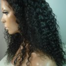 "18""  Brazilian Remy #1B Full Lace Wig Medium"