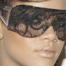 Black Lace Front Sunglasses Like Rihanna Beyonce Lady Gaga