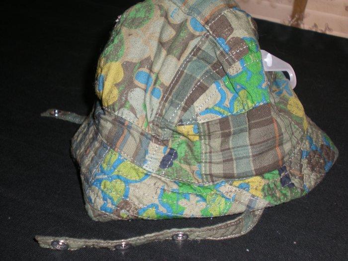 INFANT GIRL'S CHILDREN'S PLACE BEACH HAT 3-6MTHS