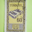 Turkish Postage Stamp printed for 750th anniversary of Kayseri Gevher Nesibe Sifaiyesi Hospital