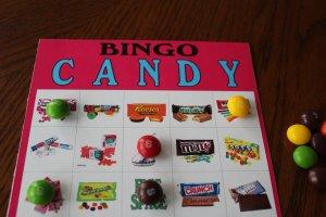 Candy Bingo Game Printable