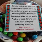 Teacher Pills Candy Topper Printable File