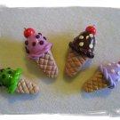 Ice Cream Cone Pendant