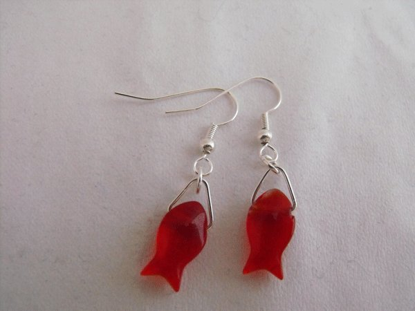 Fishy Earrings