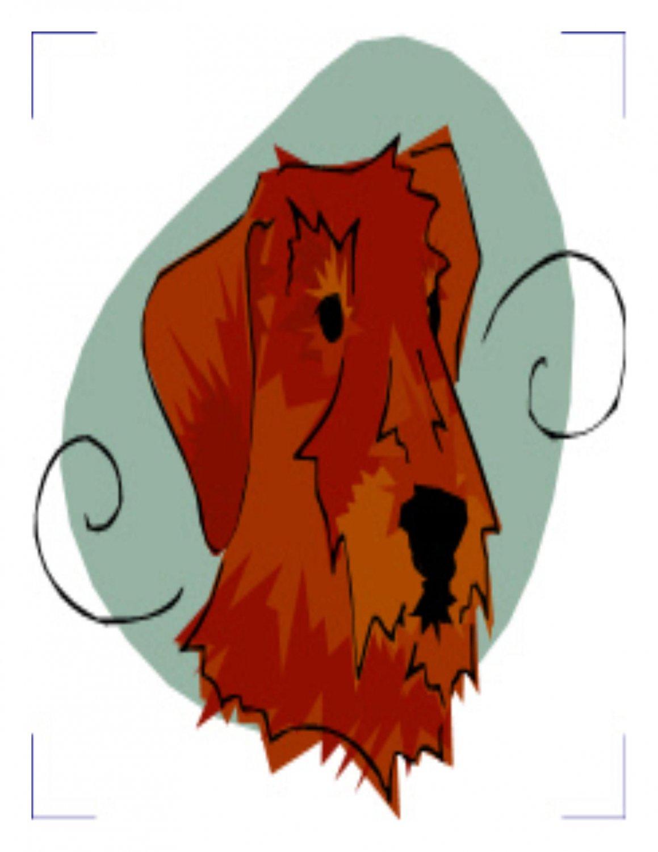 Dogs Coaster 001-Digital Download-ClipArt-Art Clip