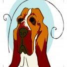 Dogs Coaster 003-Digital Download-ClipArt-Art Clip
