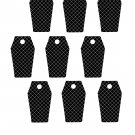 Coffin Tag-Digital Download-ClipArt-Art Clip-Digital Art