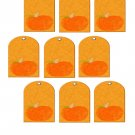 Pumpkin Dog Tag-Digital Download-ClipArt-Art Clip-Digital Art