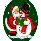 Christmas Coaster 0011-Digital Download-ClipArt-Art Clip-Digital Art