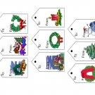 Christmas Tags701-Digital Download-ClipArt-ArtClip-Digital Art