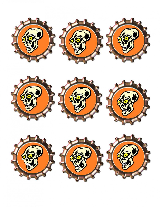 Skull2 Bottlecap -Download-ClipArt-ArtClip-Bottle Cap-Digital