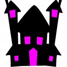 Halloween House H1-T-Shirt-Digital Clipart-SVG-Website-Gift Tag-Gift Cards-Halloween.