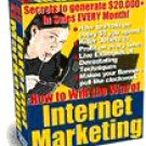 How To Win The War Of Internet Marketing
