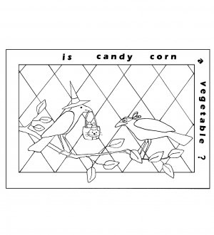 Candy Corn Crows