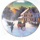 1988 Avon Christmas plate with box