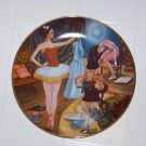 Swanilda's deception collector plate by Renee Faure ballet