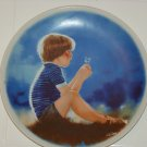 1978 Erik and dandelion collector plate first issue in zolan's children collection by Donald zolan