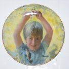 first catch  from carefree days plate collection by Thornton Utz