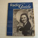 1938 radio guide with Mary Margaret Mc Bride cover