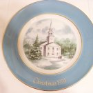 1974 Avon Christmas plate series by Wedgwood