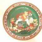 Enesco plate Christmas 1986