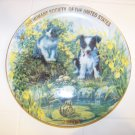 The humane society of United States 2003 plate with cat dog and frog